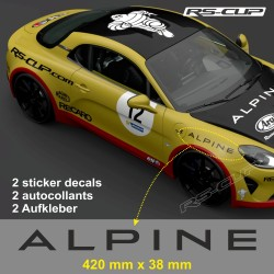 2 decal 42 cm ALPINE for A110