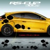 Large diamonds decals for Renault MEGANE 3 RS