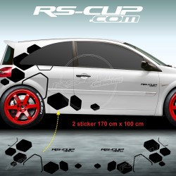 RS DESIGN decals for Renault TWINGO