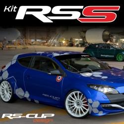 RSS Racing car graphic kit for RENAULT SPORT RS megane clio twingo captur