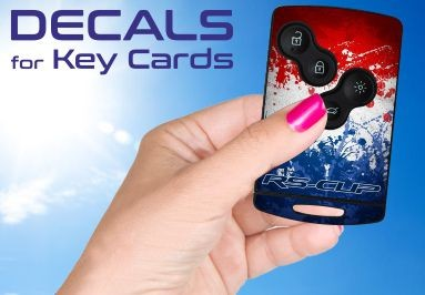 RS-CUP - Decals for Renault Sport Key Card
